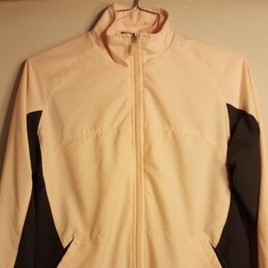 Women's Nike Jacket pink Grey Full Zip Up